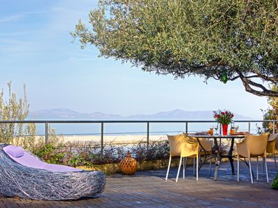 Photo for Enchanting luxury villa with pool 300 meters from the sea in Capo d'Orlando