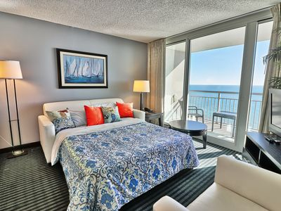 Photo for Luxury 5beds/2 Direct Oceanfront BALCs/Windows_on_ocean BRs/Wifi/Gym/Pools