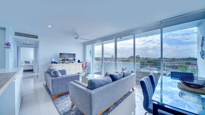 Photo for Modern Contemporary Southport Apartment