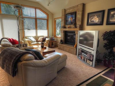 Photo for Surrounded by aspens! Wildlife photography throughout this contemporary condo!