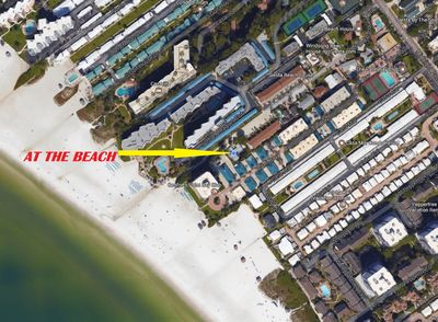 You will be a 53 second walk from the beach. That's right less than 1 minute!