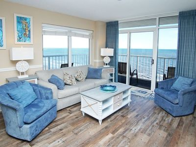 Photo for Seawatch South Tower #1006, 3 BR Ocean Front Condo with Indoor Outdoor Pools, Hot Tub, Lazy River and Kiddie Pool