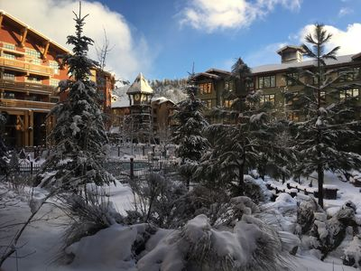 Photo for Wonderful 2 Bed Mammoth Village Condo in Grand Sierra Lodge