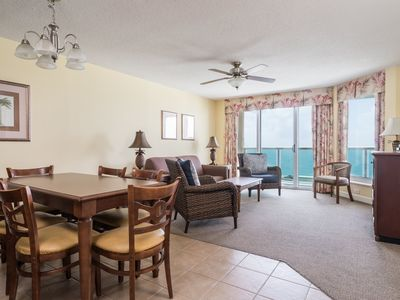 Photo for Malibu Pointe - 1105 Perfect 3 bedroom condo, just across from the beach!
