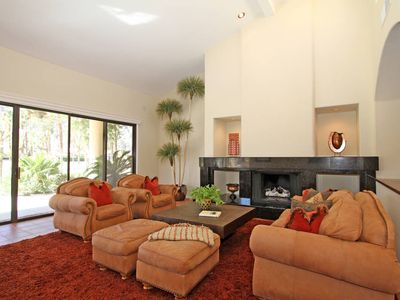 Photo for Rancho Relaxo for 6-8 people, golf, mtn views, gourmet kitchen @ PGA West