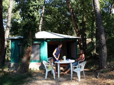 Photo for Basil 1 - Camping La Pinéde in Provence