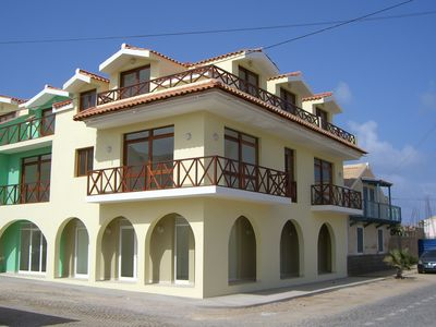 Photo for 2 bedroom apartment 40 metres from the main beach.