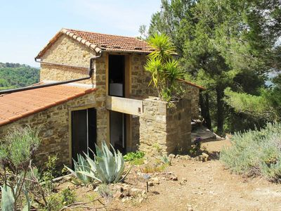 Photo for Vacation home Agriturismo il Bausco  in Camporosso, Liguria: Riviera Ponente - 4 persons, 2 bedrooms