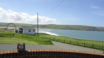 View of Cardigan Bay from  the front of the property.