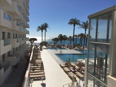Photo for Ocean Front Apartment in Sol House Costa del Sol