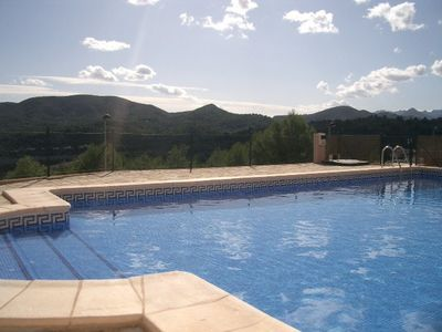 Photo for Lovely villa, stunning mountain & sea views, near Javea & Denia. Fibre internet.