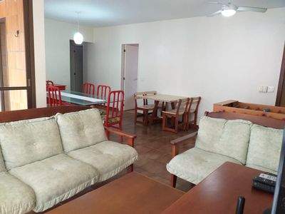 Photo for 3 bedroom apartment in Guarujá / Cove near the beach.