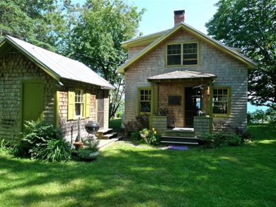 Photo for Authentic 1940's renovated cottage -an absolute waterfront gem.