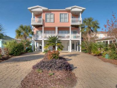 Photo for Coral Casa: 4 BR / 4 BA duplex in Kure Beach, Sleeps 10