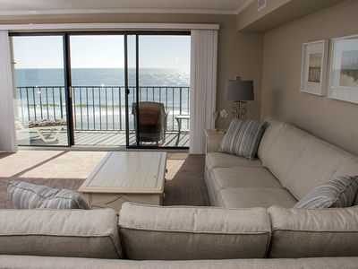 Photo for Direct Oceanfront - Updated 2-BR Condo w/ Wi-Fi, Roku & Gr8 Views