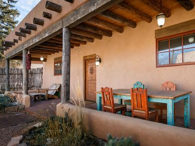 Photo for Casa De Colores:  Walk to the Plaza and art galleries on Canyon Rd