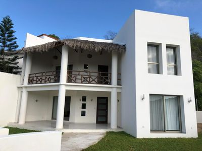 Photo for CASA PACÍFICO. NEW HOUSE BY THE BEACH. HUATULCO.