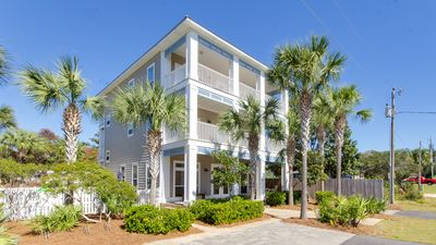 Photo for Private Heated Pool, 2 Minute Walk To The Beach, Gulf Views - Amazing Extras