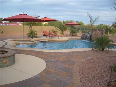 Your own private oasis right in the back yard!