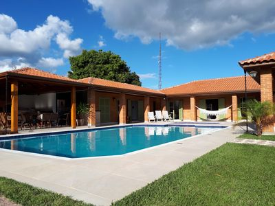 Photo for Farmhouse in gated community with 2 pools, soccer field and playground