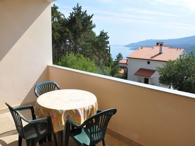 Photo for 1BR Apartment Vacation Rental in Rabac, Kvarner Bucht