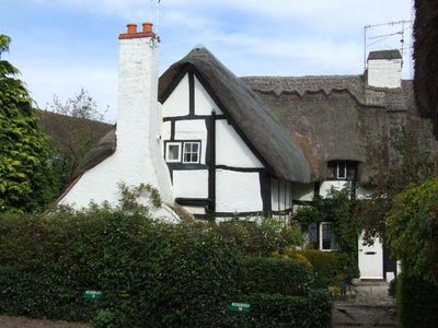 Photo for BLUEBELL COTTAGE, romantic, with a garden in Shottery , Ref 27444