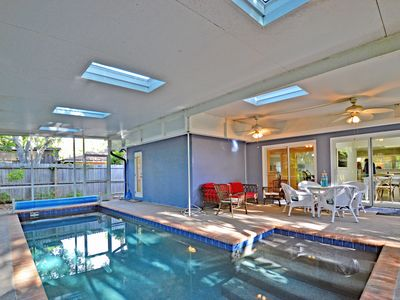 Photo for NEW Private Siesta Key Vacation Rental Home W/ Heated Pool on Quiet Street