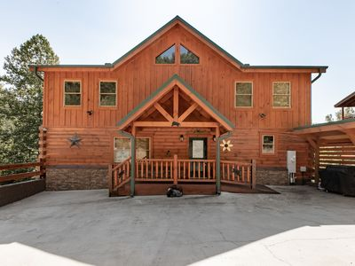 Photo for Rates reduced!  6 beds/6 baths, hot tub, theater, pool table, arcade games!