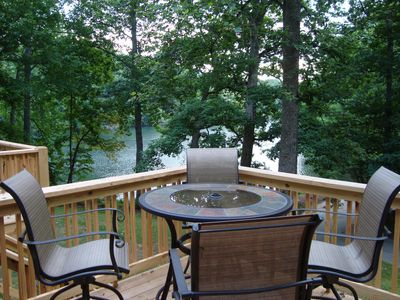 Photo for NEW! Lakefront 5BR-Boat From Your Yard! Gorgeous Lake Views From Multiple Decks!