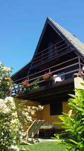Photo for Chalet surrounded by nature on the heights of Lake Maggiore