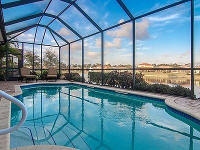 Photo for SPECTACULAR LAKEFRONT LUXURY HOME, 10 minutes from Fifth Ave, with private pool