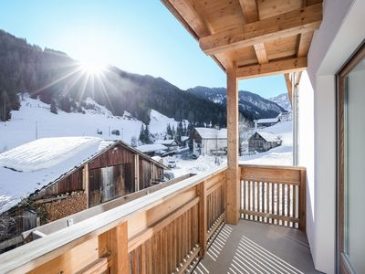 Photo for Idyllic Apartment Kronplatz with Balcony, Garden & Wi-Fi; Parking Available, Pets Allowed