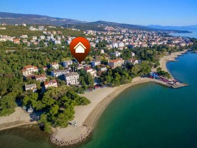 Photo for Holiday house Crikvenica for 3 - 5 persons with 2 bedrooms - Holiday house