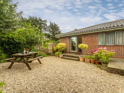 Photo for A peaceful, relaxing location, with lovely open views across farmland & marshes.