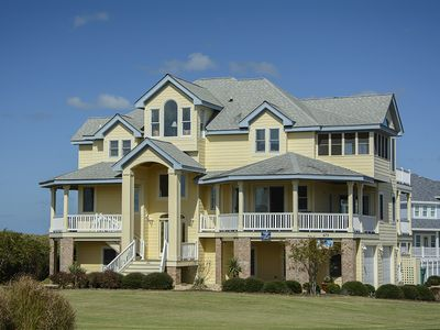 Photo for Wine Down: 6 BR / 5 BA house in Corolla, Sleeps 16