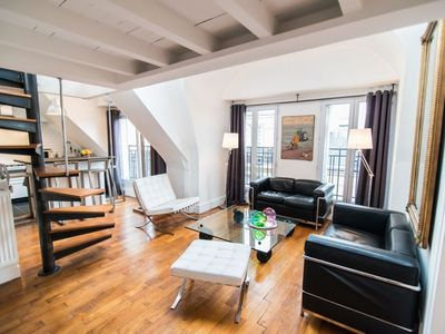 Photo for L'Ecrin apartment in 06ème - St Germain des Prés with WiFi, air conditioning & lift.