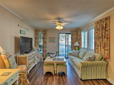Photo for NEW! Cozy Myrtle Beach Resort Condo w/ Pool Access