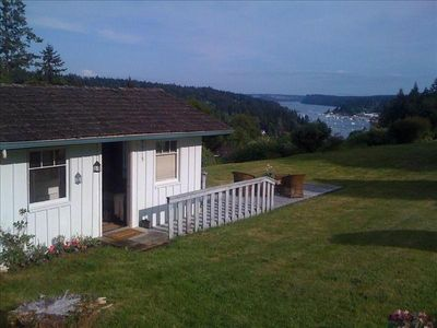 Photo for The High Cottage - Fabulous Mountain, Harbor, Sound View!!!