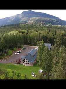 Photo for Magnificent Olympic Park  Mountain & Elwha River Views 2672sf home
