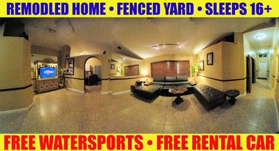 Photo for Huge Private Gated Home w/ FREE RENTAL CAR, FREE Watersports, Concierge, Wifi++