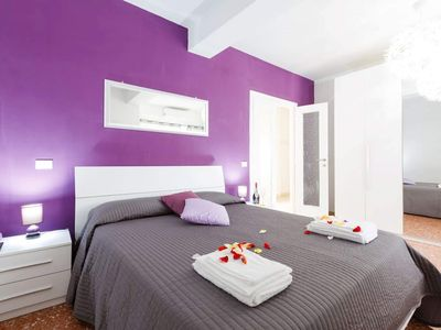 Photo for DeLuxe spacious apartment near the Vatican Museums central wi-fi location