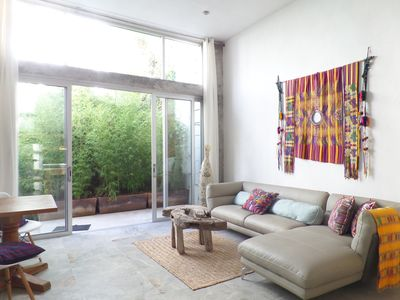 Elegant & Stylish Oasis, lots of natural light, downtown, secure with garage.