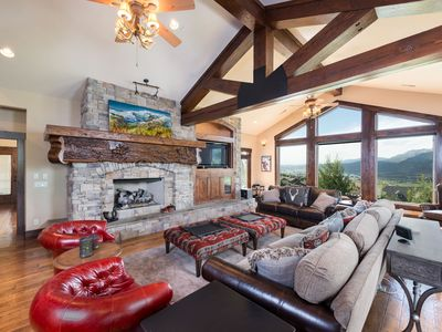 Photo for 6 Bedroom Luxury Home Rental - Sleeps 16 Near Powder Mountain Resort PME
