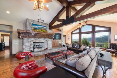 Open Concept with stunning panoramic views