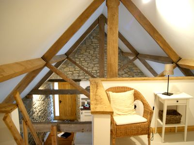 Photo for A Beautiful converted barn, sleeps 6 with hot tub use in an Idyllic Location