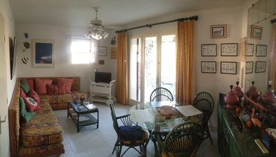 Photo for Discover Camargue Two, apt RdC with Parking and view on the pond ....