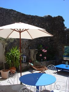 Photo for Pretty house in picturesque hamlet ardèchois, near river and bike path