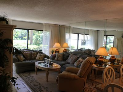 Photo for Edgewater 2 bedroom Golf Villa Across From Beach