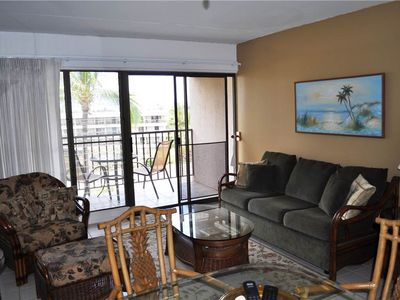 Photo for Top floor. 1bd/1ba garden view condo with many upgrades throughout at the Kihei Akahi - C-608