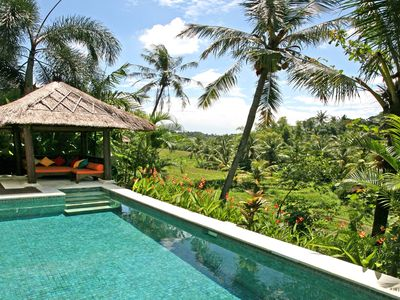 Photo for Villa Abadi In The Heart Of Bali's Terraces - Lonely Planet Hip Homestay!